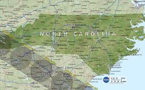 North Carolina Map Of Cities And Towns Total Solar Eclipse Last Minute Plan To View In Nc Sc The