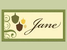 printable placecards print thanksgiving place cards from hgtv hgtv