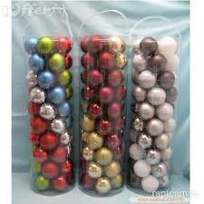 50pc lot free shipping tree balls ornaments for sale