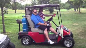 golf cart with hydraulics youtube