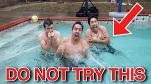 Romanatwoodvlogs Water Challenge 2 Degree Water Challenge Our Dumbest Idea