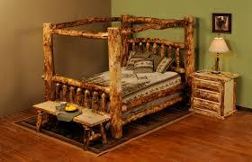 Log Bedroom Furniture Sets Bedroom Aspen Log Bedroom Furniture On Bedroom In Mountain Woods