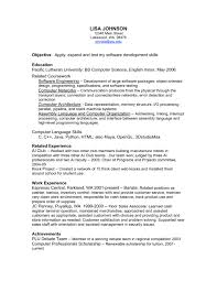 Career Related Skills For Resume Resume Other Skills Faking A Resume Resume For Your Job
