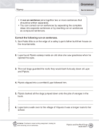 black friday free run on sentence worksheets for 5th grade free