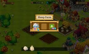 download game farm village mod apk revdl town village 1 4 8 apk mod coins gems android