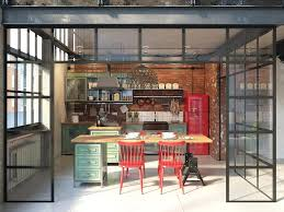 industrial style kitchen islands captivating industrial style kitchen get the look modern industrial