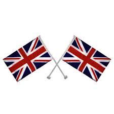 Great Britain Flag 2 X Union Jack Window Car Flag United Kingdom Great Britain