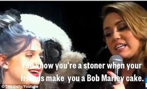 miley cyrus confesses that she smokes u0027too much weed u0027 when given a