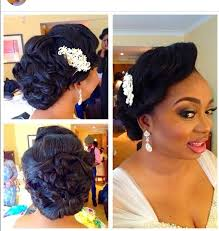 nigeria wedding hair style latest white wedding bridal hair inspiration tilas beauty makeup