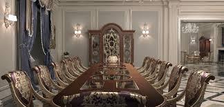 Villa In Monte Carlo Dining Room Vimercati Meda Contract Furniture - Monte carlo dining room set