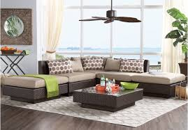 Sofa Table Rooms To Go by Picture Of Lakeside Terrace 5 Pc Sectional From Sectionals