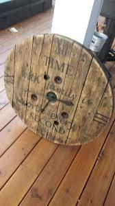 Wooden Spool Table For Sale Best 25 Spool Crafts Ideas On Pinterest Wood Spool Furniture