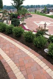 Unilock Brussels Block Patterns by Classic Walkway U0026 Driveway Using Unilock Il Campo Pavers With