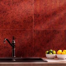 fasade 24 in x 18 in traditional 6 pvc decorative backsplash