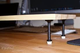 Dual Monitor Gaming Desk Bedroom Decorative Dual Monitor Stand Multi Monitor Stand