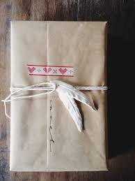 country style wrapped package found on the blog marley and lockyer