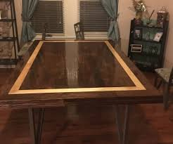dining table top from hardwood flooring 8 steps with pictures
