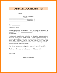 resignation letter format with notice period how t write a resume