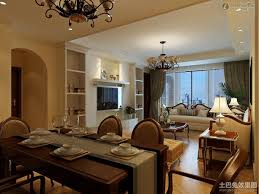 captivating interior design for living room and dining room with