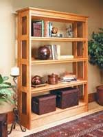 Wood Bookshelf Plans by Wooden Book Cases Woodworking Plans And Information At