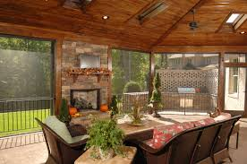 Outdoor Enclosed Rooms - 55 luxurious covered patio ideas pictures