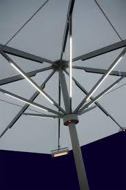 Patio Umbrella Lights Led Fireplace Moonrays Solar Powered Led Color Changing Plastic