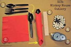 DIY Mickey Mouse Cutlery – Sweets and Life