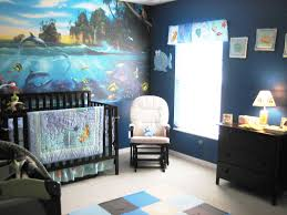 under the sea ocean themed nursery with wall sized coral reef under the sea ocean themed nursery with wall sized coral reef decal mural purchased with