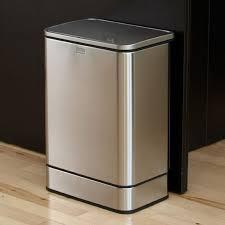 poubelle cuisine 40 litres poubelle de cuisine à ouverture automatique 40 litres en inox