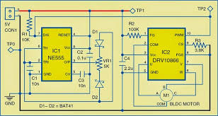 brushless dc motor driver circuit diagram schematics world