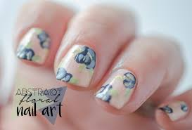 how to realistic vintage rose floral nail art tutorial hand 20