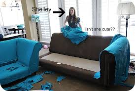 Fitted Covers For Sofas My Slipcovered Sectional And A Giveaway Tatertots And Jello