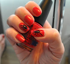 stylish trendy and scary all at the same time nail art