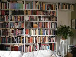 great wall bookshelves on furniture with small wall mounted