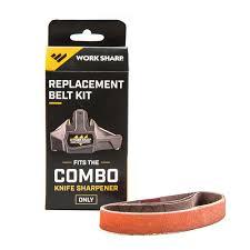 combo knife sharpener work sharp replacement belt kit combo knife sharpener
