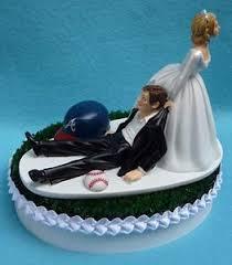 baseball cake toppers wedding cake toppers baseball funweddingthings