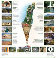 Negev Desert Map Israel National Trail Spni