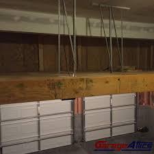 loft storage solutions custom built massive overhead garage storage