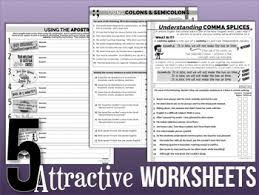 5 free punctuation worksheets by stacey lloyd teachers pay teachers