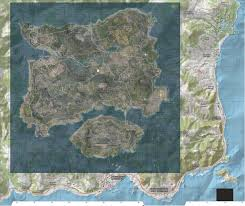 Day Z Map The Real Size Of The Playerunknown U0027s Battlegrounds Map Erangel