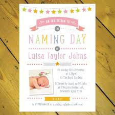 Christening Invitation Card Maker Online Personalised Christening Naming Day Invitations Boy Photo Ebay