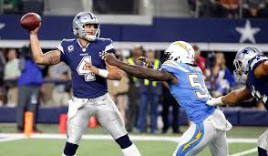 philip rivers chargers beat fading cowboys on thanksgiving