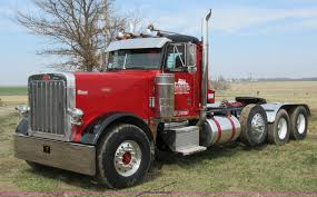 semi truck 1995 peterbilt 379 semi truck item f8439 sold april 21