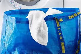 ikea has a brilliant response to balenciaga u0027s lookalike bag new