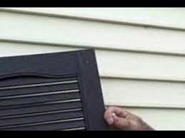 How To Install Interior Window Shutters How To Install Shutters Youtube