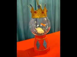 fish bowl centerpieces gold fish bowl elmo centerpiece