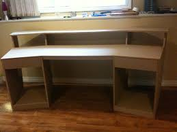 Studio Desk Diy Uncategorized Home Recording Studio Desk Plan Cool In Brilliant