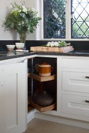 Kitchen Corner Cabinets Options by 8 Clever Kitchen Storage Solutions For Corner Cabinets