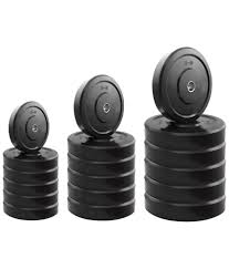 headly 50 kg home gym set with 2 dumbbell rods 2 rods 3 in 1 idf