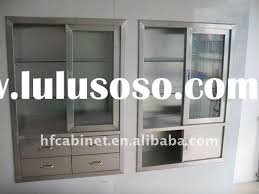 glass cabinet door hardware modern concept stainless steel frosted glass cabinet doors with wall